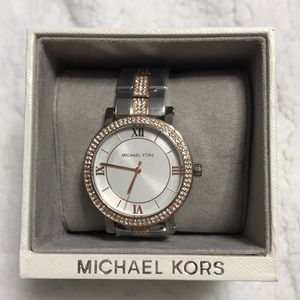 Michael Kors RoseGold/Silver Watch